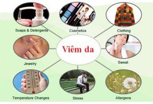 Nguyên nhân gây viêm da do yếu tố bên ngoài