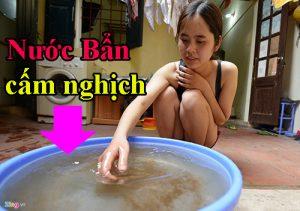 Nguyên nhân nấm móng do nước bẩn