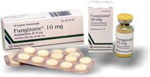 Thuôc trị nấm da Amphotericin B (fungizon) hiệu quả