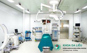 Trang thiết bị y tế hiện đại tại phòng khám da liễu Đông Phương
