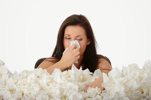 Viêm mũi dị ứng là một triệu chứng của dị ứng